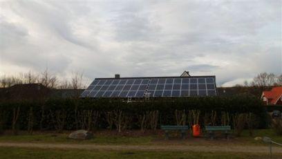 PV-Anlage mit Siliken Modulen in Schleswig Holstein