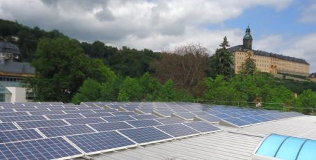 Photovoltaikanlage mit Q.Cells Modulen im Landkreis Saalfeld-Rudolstadt