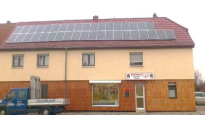 Photovoltaikanlage mit Q.Cells Modulen im Landkreis Sömmerda