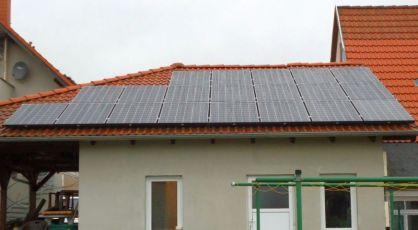 Photovoltaikanlage in Wölfis