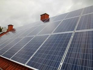 Solaranlage mit IBC Modulen im Wartburgkreis