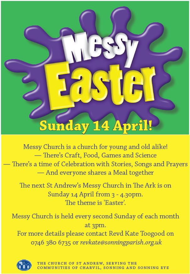 Messy Easter - The Parish Church of St Andrew