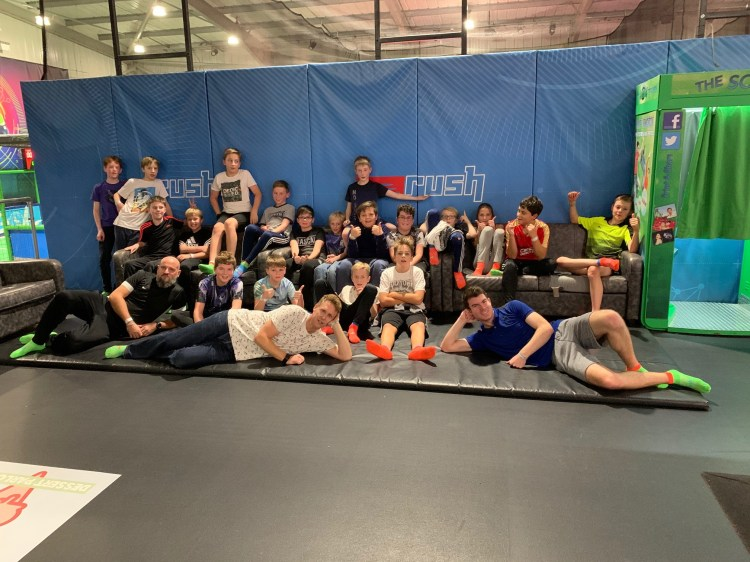 STAY at Rush trampoline park