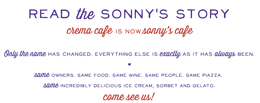 Read the Sonny's Story
