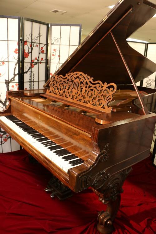 Rare Art Case Steinway Concert Grand (VIDEO) Model D Rebuilt & Refinished Rosewood $35,000.