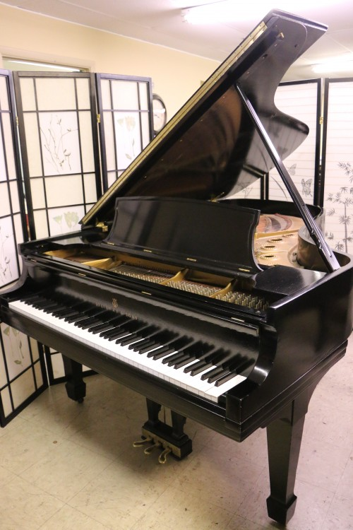 Steinway B 6'10.5 1960 Ebony Steinway Action Recently Upgraded & Regulated, New Finish $23,950.