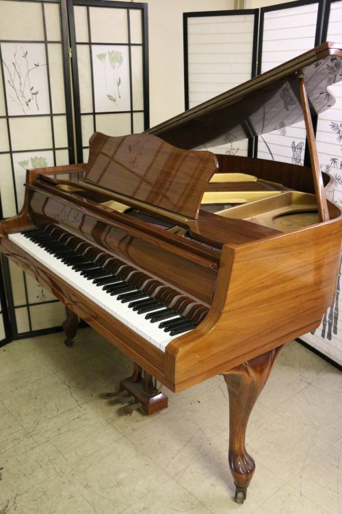 Art Case Zimmermann Baby Grand Walnut $3,500.
