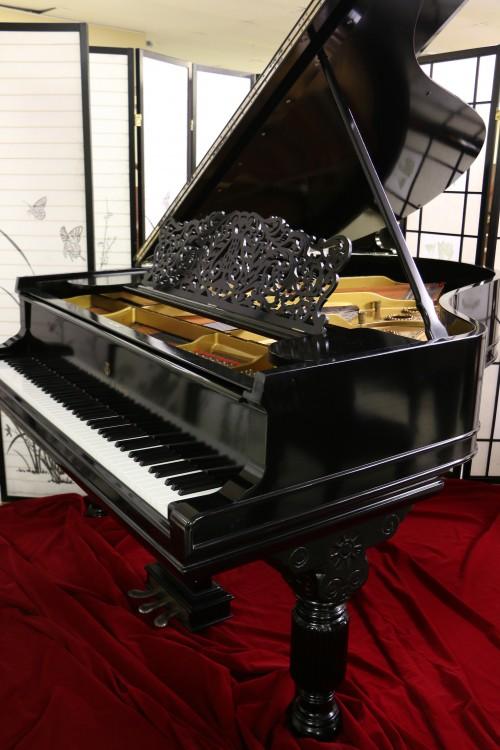 Art Case Steinway A Victorian Style Fully Rebuilt 20 years ago Semi-Gloss Ebony $22,500.