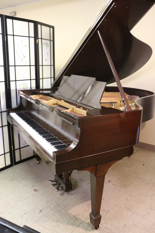 Steinway M Grand Piano (VIDEO) $13,500  Mahogany Rebuilt/Refin.