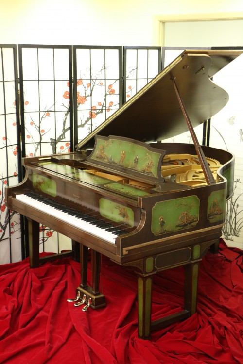 Art Case Weber Piano w/Hand Painted