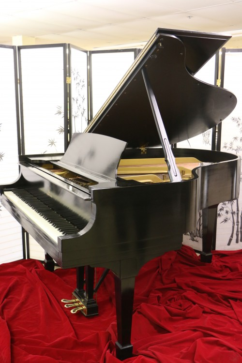 BLOWOUT SALE! Steinway M 1937 Semi-Gloss Ebony, new bass strings, newer Steinway hammers $12,888.