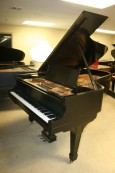 Steinway B Grand Piano Ebony with QRS 2000 Player System, 1914 Rebuilt & Refinished $26K
