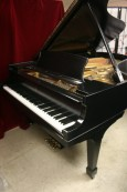 Steinway B Grand Piano New Ebony Satin Finish 1978 Excellent Like New Original Steinway Parts  $28,500.