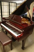 Red Mahogany Samick Baby Grand Piano 1989 $4500.