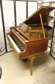 Art Case Baby Grand Kranich and Bach Walnut Piano $4500