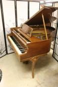 Art Case Baby Grand Kranich and Bach Walnut Piano $4500