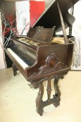 Art Case Baby Grand Piano Mediterranean Style by Wurlitzer $4500