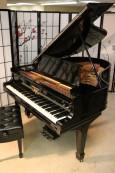Ebony Gloss Steinway O Grand Piano 5'10.5