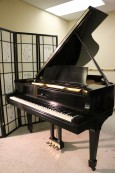 Steinway M Ebony Grand Piano. 1929 Refinished/Refurbished 2014 $10,500.