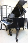 Rare King Louis XV Steinway M Piano Ebony Gloss Refinished/Rebuilt 1940 $29,500.