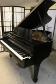 Steinway M 1975 Ebony Black $17,500  (VIDEO) Grand Piano. All original Steinway Factory finish and parts!
