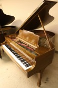 Steinway M Grand Piano Walnut (VIDEO) Rebuilt/Refin. 1997 $13,500