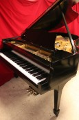 Steinway M  Ebony Semi-gloss $13,500 1937 (VIDEO) Grand Piano