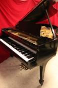 Steinway M  Ebony Semi-gloss $13,500 1937 (VIDEO) Grand Piano