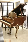Art Case Decker & Sons Baby Grand Piano 5'2