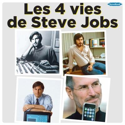 couv_Les 4 vies de Steve JOBS