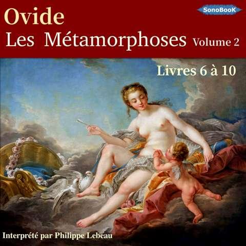 Couv Livres audio Les Métamorphoses d'Ovide