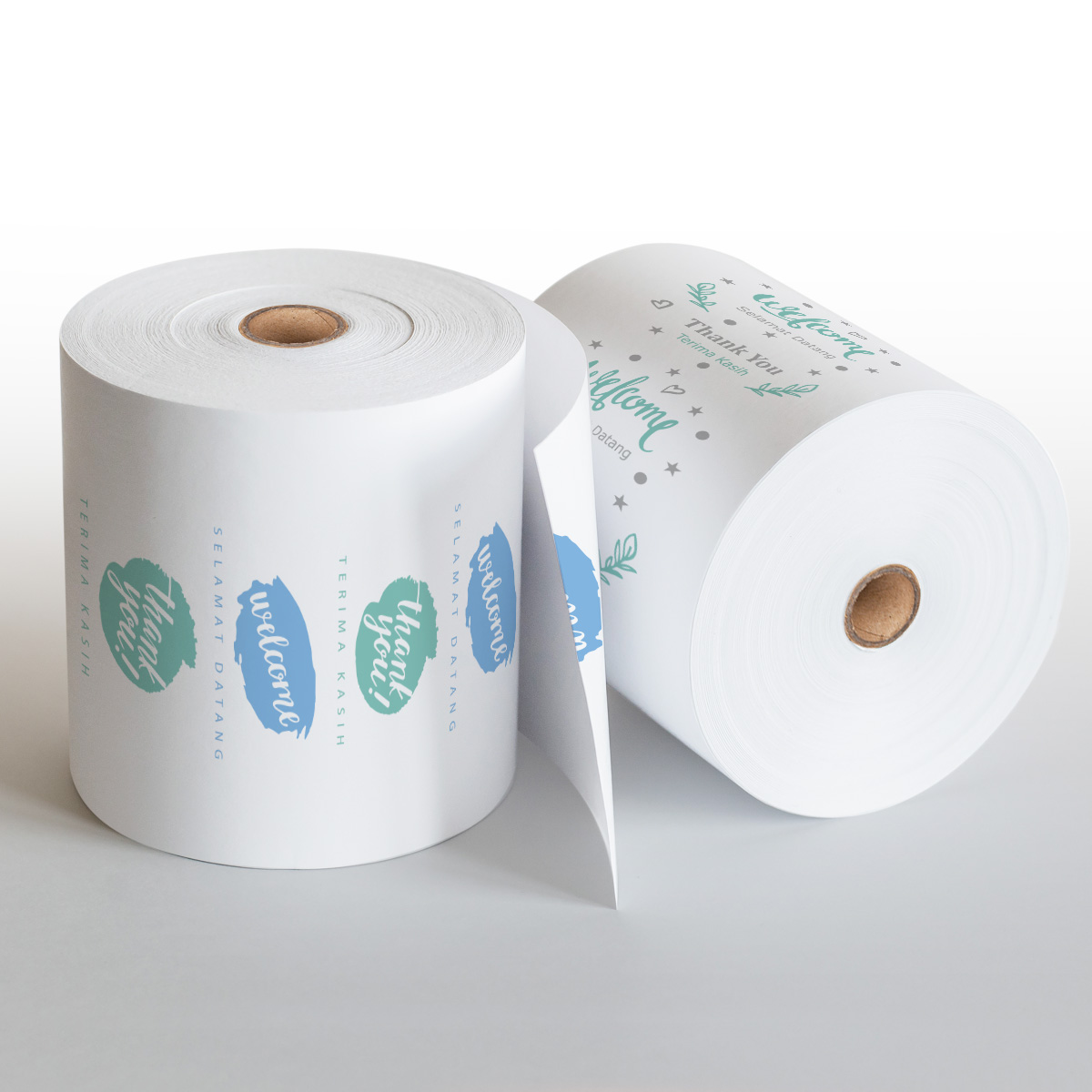 Pre-printed Standard Welcome Paper Roll