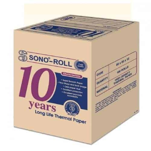 Sono 10 Years Long Life Thermal Paper Roll