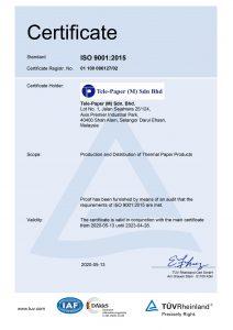 ISO 9001 - 2015 Tele-Paper_ISO 9001