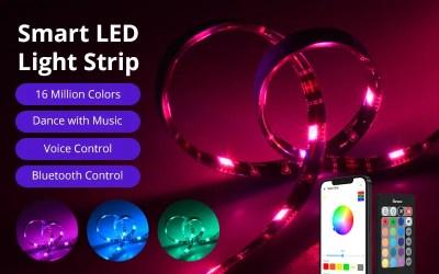 Three Control Ways of SONOFF L2 Wi-Fi Smart LED Light Strip