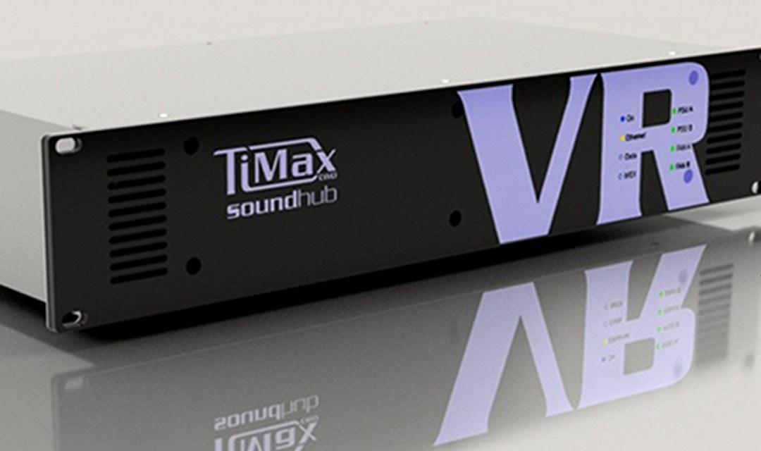 Out Board TiMax SoundHub VR Processeur show control/lecteur/spatialisation
