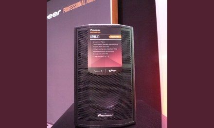 Pioneer Pro Audio série XPRS, enceintes actives