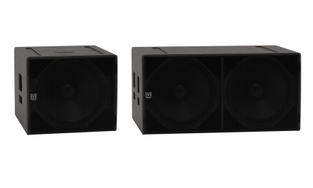 Martin Audio SX118 et SX218, caissons de graves