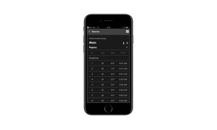 d&b Audiotechnik ArrayCalc Viewer pour iOS et Android