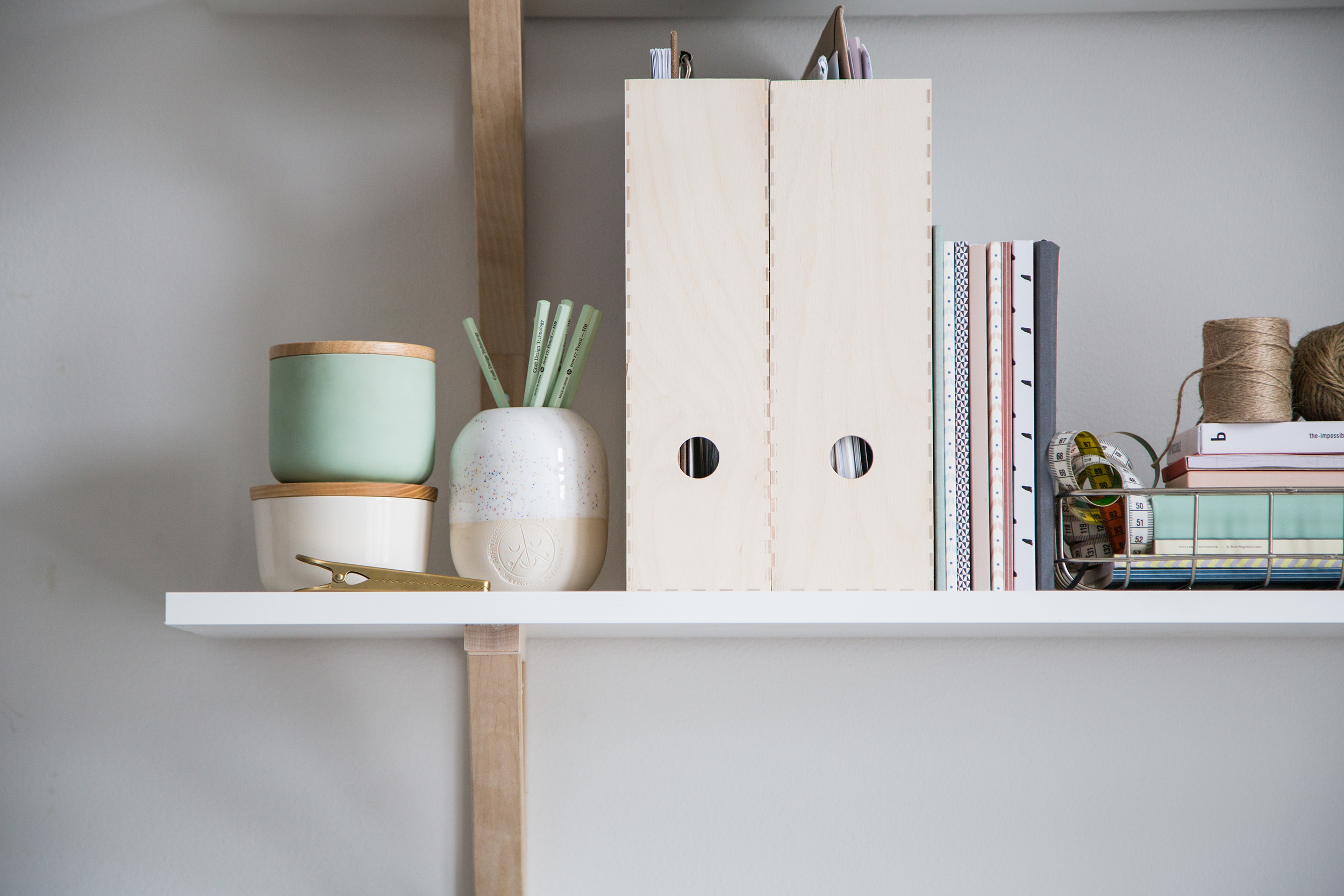 Simple shelves for the office – sonoma seven