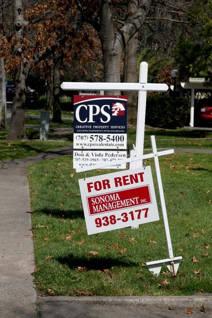Renters and homeowners are struggling in the valley as housing prices drop to a low not seen in many years.