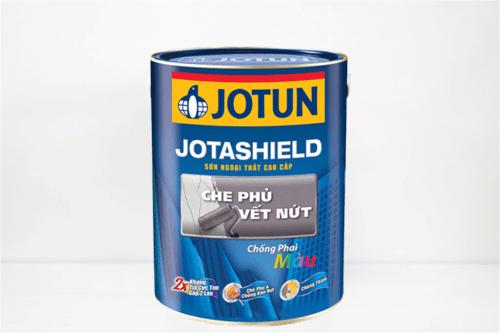 Bán sơn ngoại thất Jotun Jotashield che phủ vết nứt