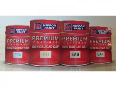 Cần mua sơn công nghiệp gốc dầu Nippon PU White/ Black