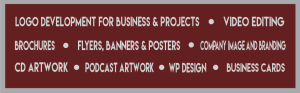 Podcast Cover Art CD Artwork Banners Posters Video Editing Podcast Logo Business Cards