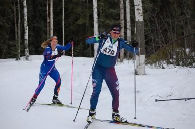 Leonard leading 50 km winner Konieczny