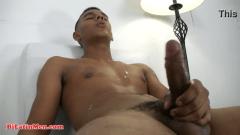 Moreno picudo na punheta