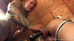 Gaysian Muscle Daddy Damian X. Dragon Turns Boxing Lesson into a Kinky Fuck