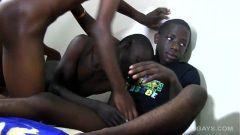 Orgia de africanos jovens metendo