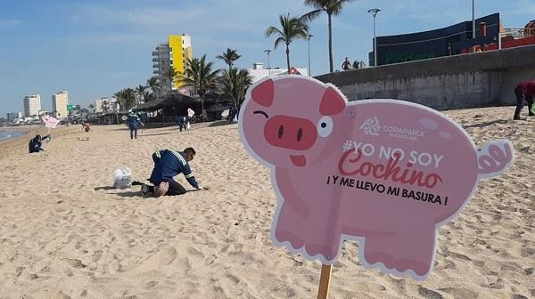 campaña de limpieza en playas