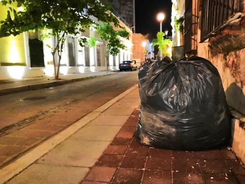 """Debido a que se esperan lluvias por efecto de la tormenta tropical """"Lorena"""", autoridades piden a la población que no saque la basura a la calle"""